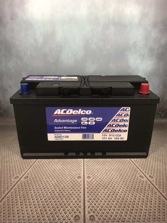 AC Delco AD60138 Car Battery