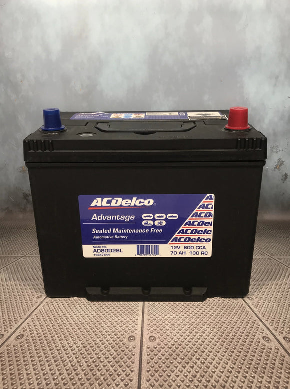 AC Delco AD80D26L Car Battery
