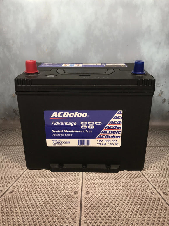 AC Delco AD80D26R Car Battery
