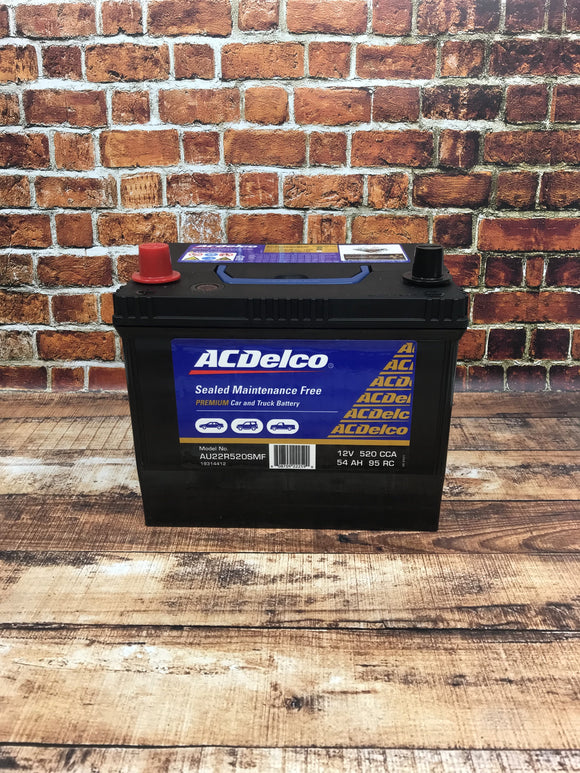 AC Delco AU22R520SMF Battery