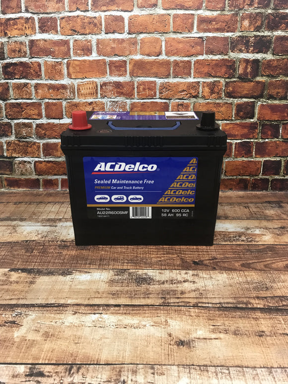 AC Delco AU22R600SMF Battery
