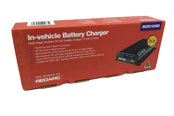 Red Arc BCDC1225D 25a DC-DC Charger