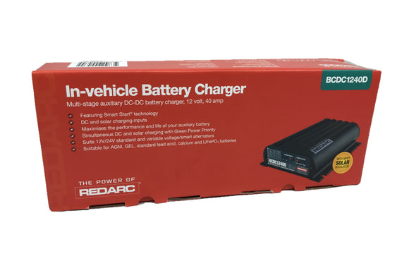 Red Arc BCDC1240D 40a DC-DC Charger