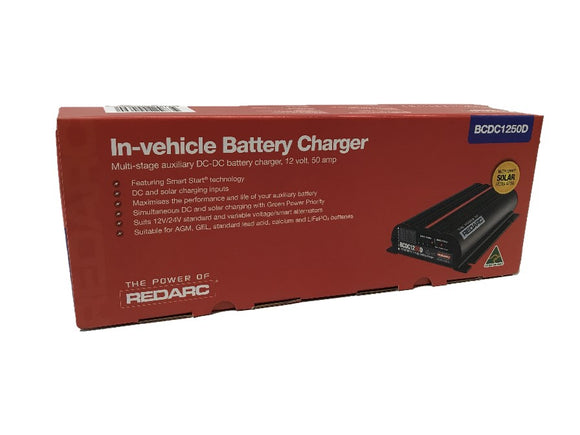 Red Arc BCDC1250D 50a DC-DC Charger