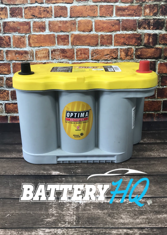 Optima Yellow Top 27F Deep Cycle AGM - Battery HQ Brisbane