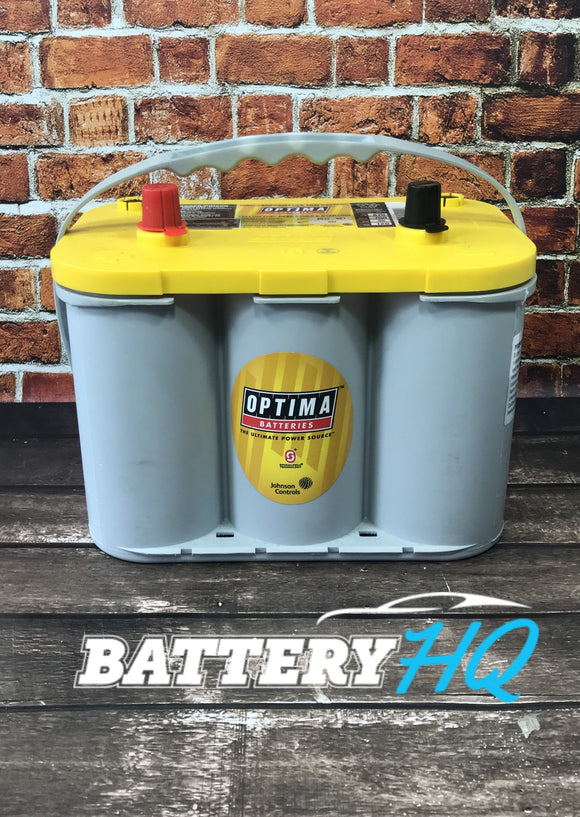 Optima Yellow Top D34 AGM Deep Cycle - Battery HQ Brisbane