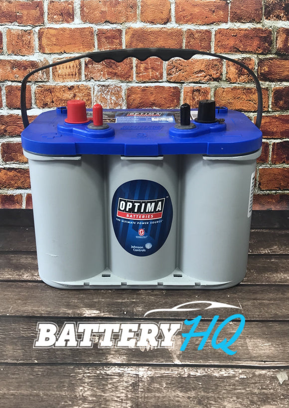 Optima Yellow Top D34M Marine AGM Deep Cycle - Battery HQ Brisbane