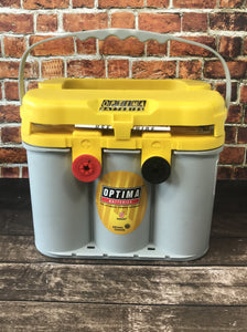 Optima Yellow Top D34/78 AGM Deep Cycle - Battery HQ Brisbane
