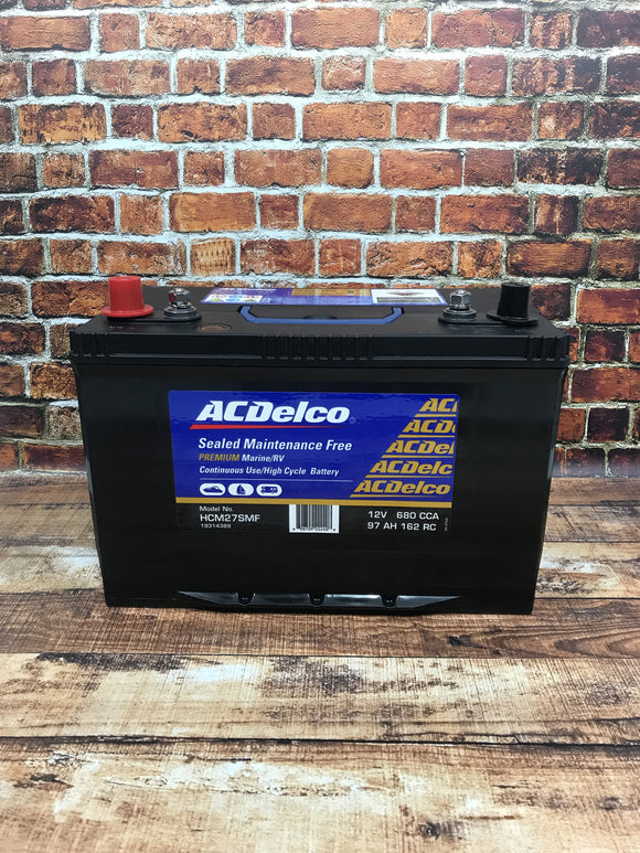 AC Delco HCM27SMF Battery