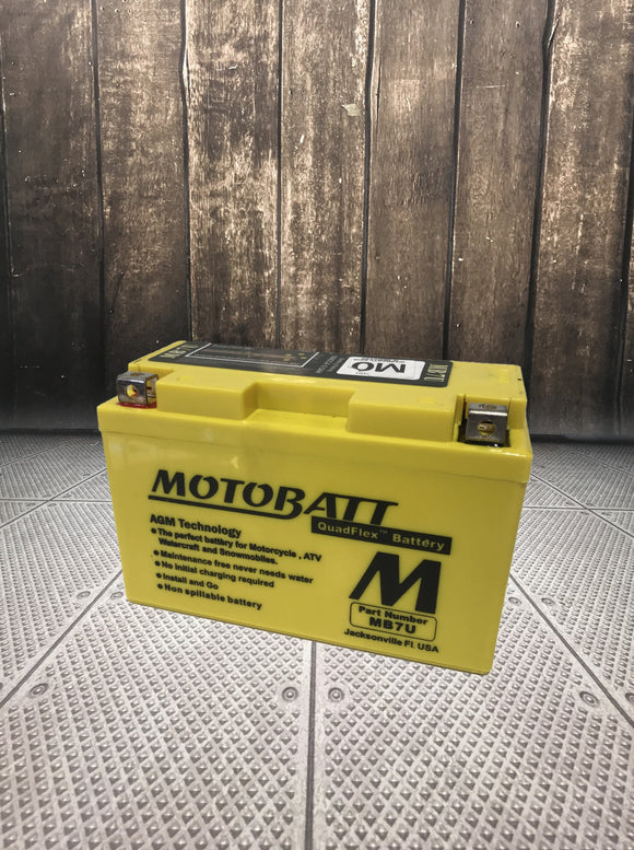 Motobatt MB7U Motorcycle AGM Battery