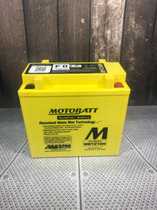 Motobatt MBYZ16H Motorcycle battery AGM - Battery HQ Brisbane