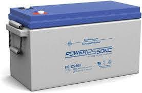 Power Sonic PDC122500 AGM Deep Cycle battery