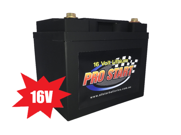 Pro Start 16 volt Lithium Battery - 16v