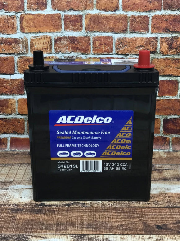 AC Delco S42B19L Car Battery