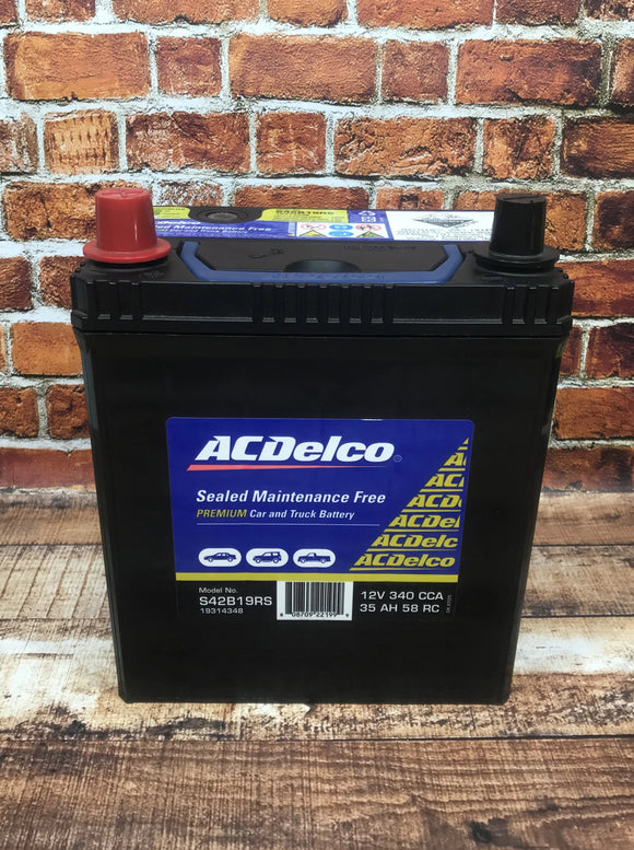 AC Delco S42B19RS Car Battery