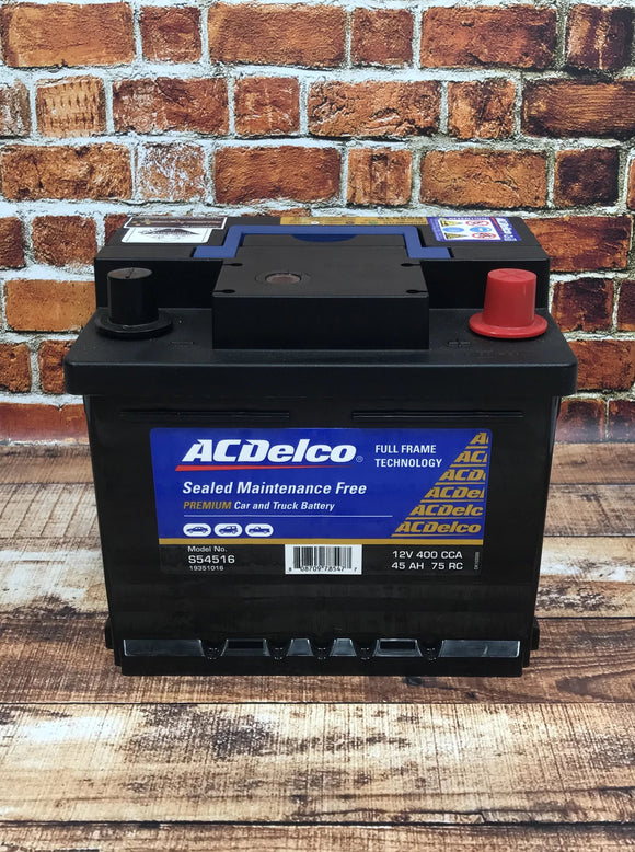 AC Delco S54516 Car Battery
