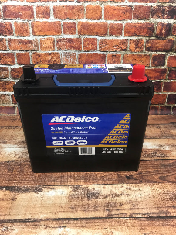 AC Delco Battery S55B24LS - NS60 - Battery HQ Brisbane