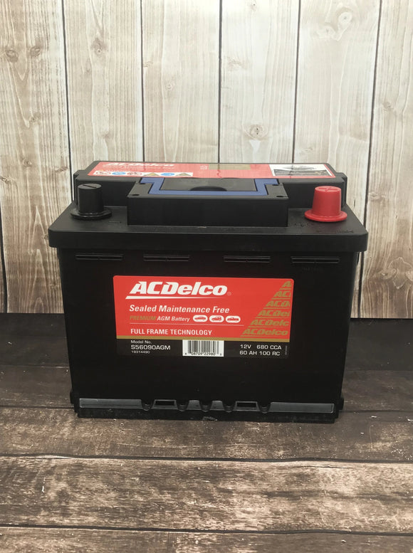 AC Delco S56090AGM Car Battery