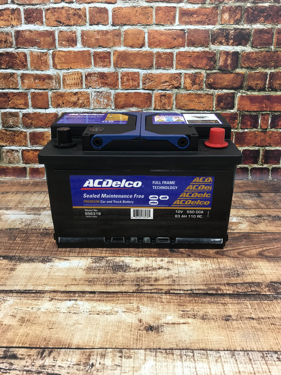 AC Delco S56318 Car Battery