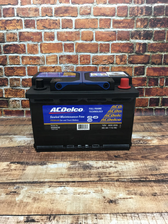 AC Delco S56838 Car Battery
