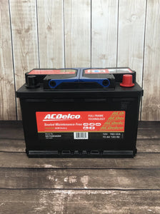 AC Delco S57090AGM Car Battery