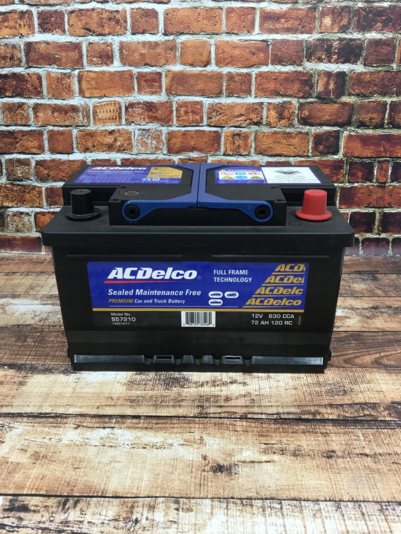 AC Delco S57210 Car Battery