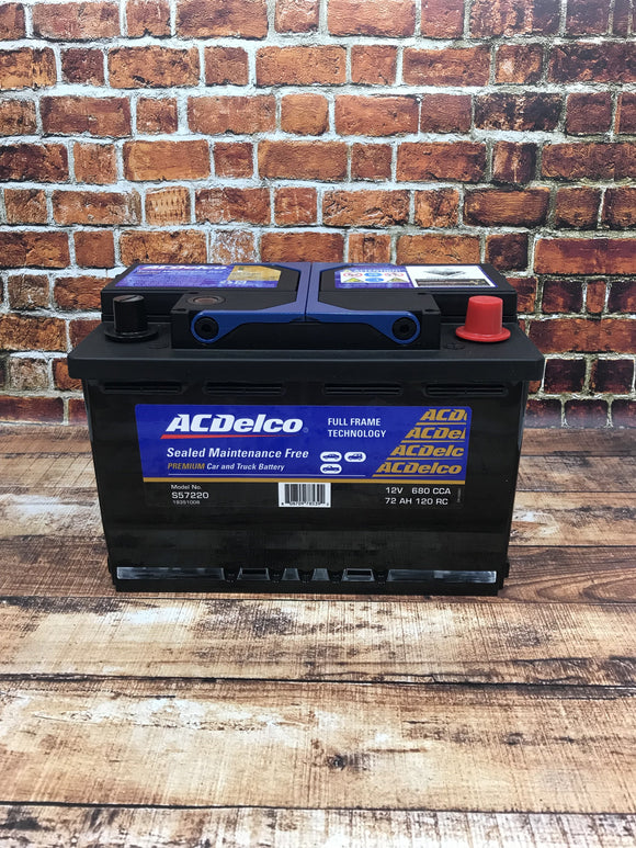 AC Delco S57220 Car Battery