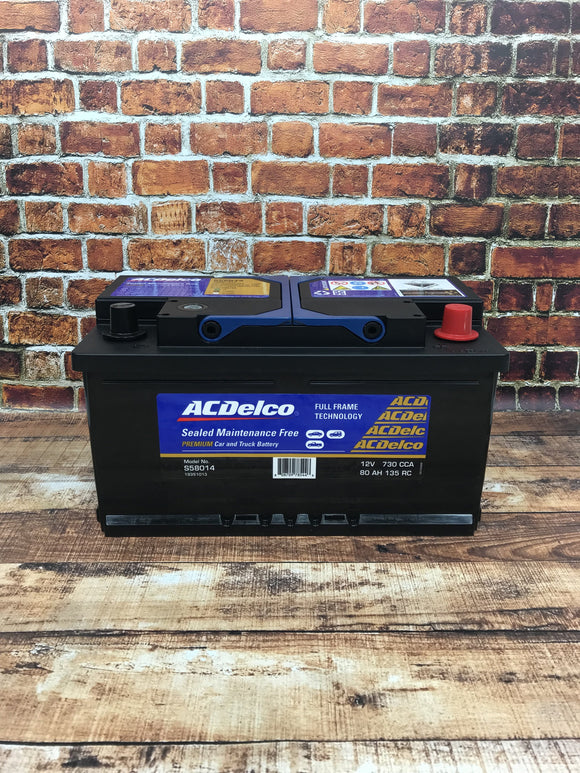 AC Delco S58014 Car Battery