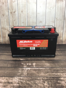 AC Delco S58090AGM Car Battery
