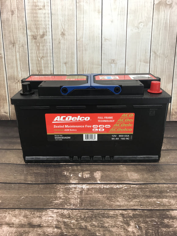 AC Delco S59590AGM Car Battery