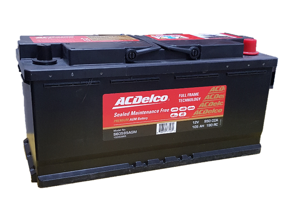 AC Delco S60595AGM AGM Car Battery - Battery HQ Brisbane