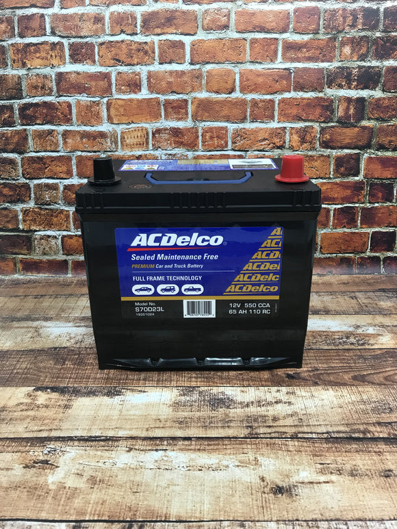 AC Delco S70D23L Car Battery