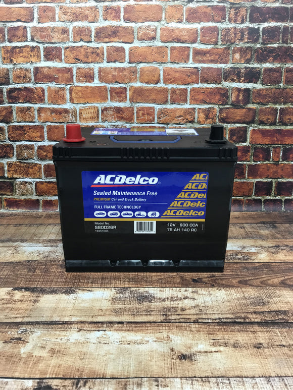 AC Delco S80D26R Battery