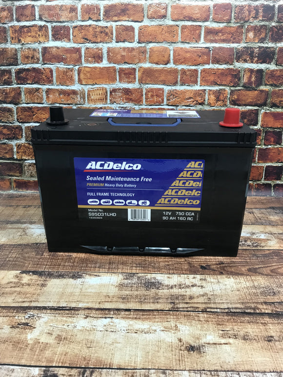 AC Delco S95D31LHD Battery