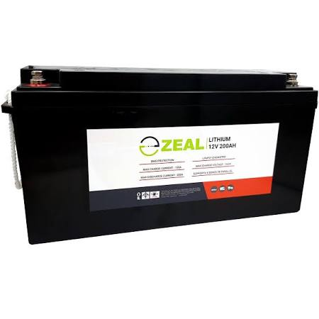 Zeal Lithium SLZ12V200S Deep cycle Battery 200AH
