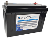 Invicta SNL12v125s Lithium Deep Cycle Battery - Battery HQ Brisbane