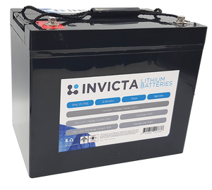 Invicta SNL12v75s Lithium Deep Cycle Battery - Battery HQ Brisbane