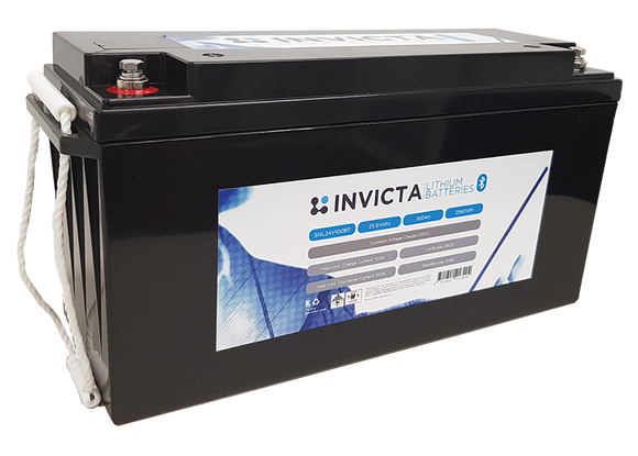 Invicta SNL24v100BT Lithium Deep Cycle Battery - Battery HQ Brisbane