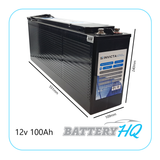 Invicta SNLFT12v100BT Lithium Deep Cycle Battery - Battery HQ Brisbane