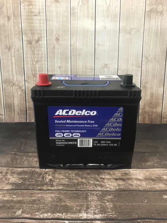 AC Delco SQ85D23REFB Battery