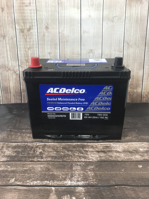 AC Delco SS95D26REFB Battery