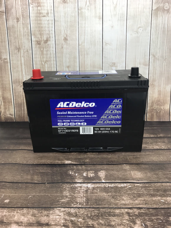 AC Delco ST110D31REFB Battery