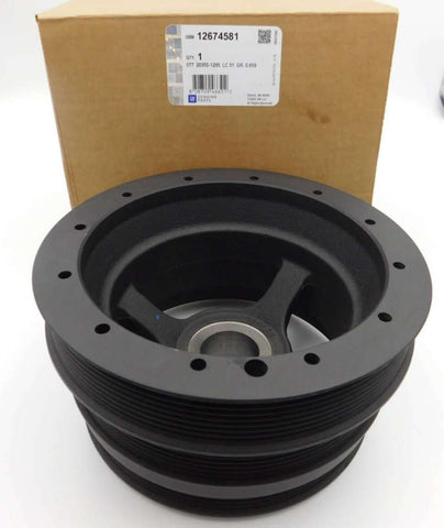LSA harmonic balancer pulley