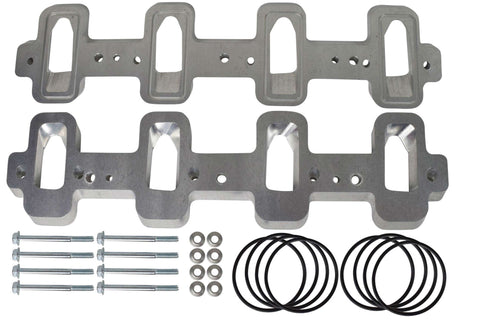 Malex Motorsports LS Cathedral Port Cylinder Head to Rectangle Port Intake Manifold Adapters