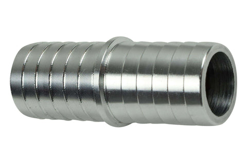 "3/4"" Hose Barb .750 Inch Splice Coupler Mend Repair Connector Fitting Adapter"