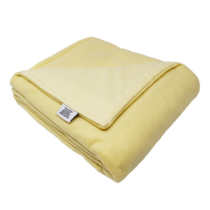 5LB Light Yellow Fleece and Flannel