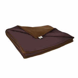 15LB Brown (Deluxe) Fleece and Flannel