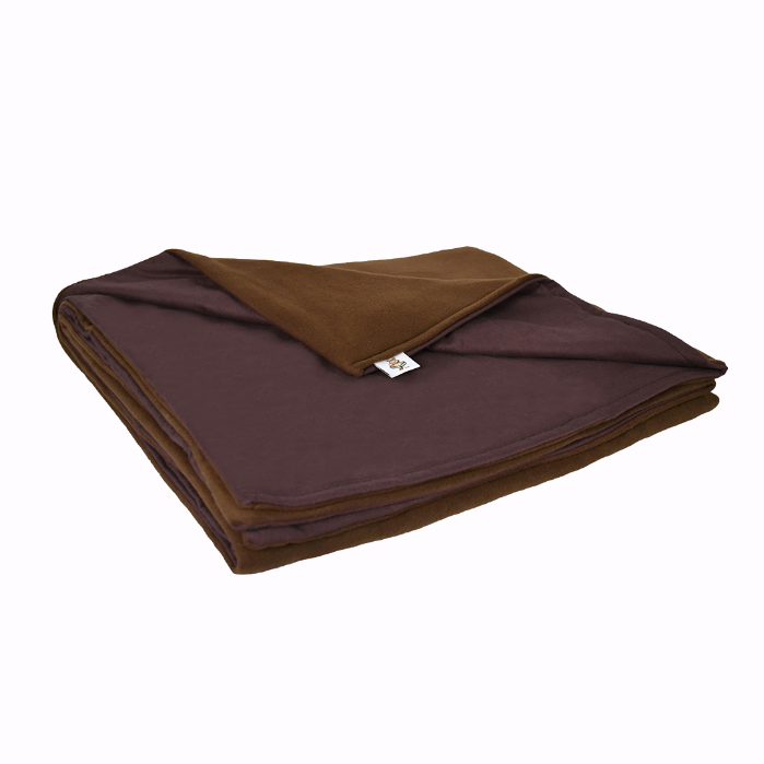 10LB Brown (Large) Fleece and Flannel