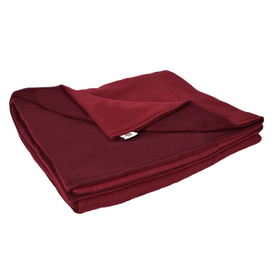 9LB Burgundy (Deluxe) Fleece and Flannel