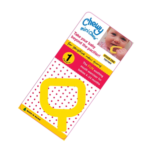 Chewy Tubes Mini Chew-Yellow